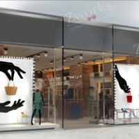 Clothing Store 3d Model